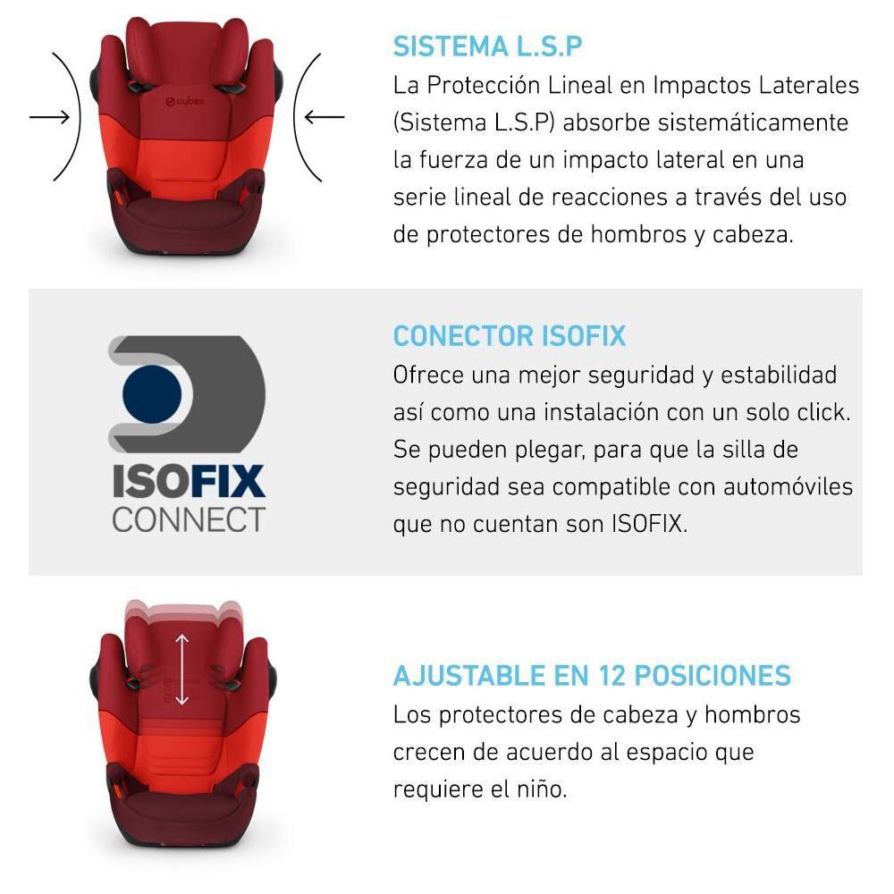 Silla De Auto Cybex Solution M-Fix Sl image number 1.0