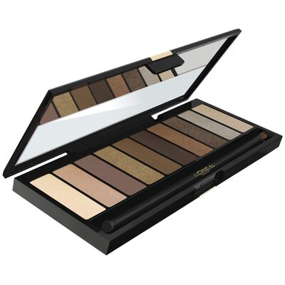 Set De Sombras L'Oreal La Palette Nude Beige Color Riche  / Beige