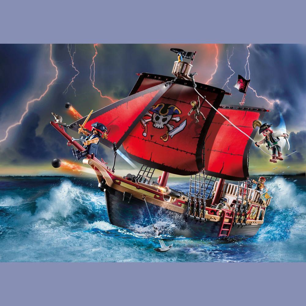 Figura De Acción Playmobil Barco Pirata Calavera image number 1.0