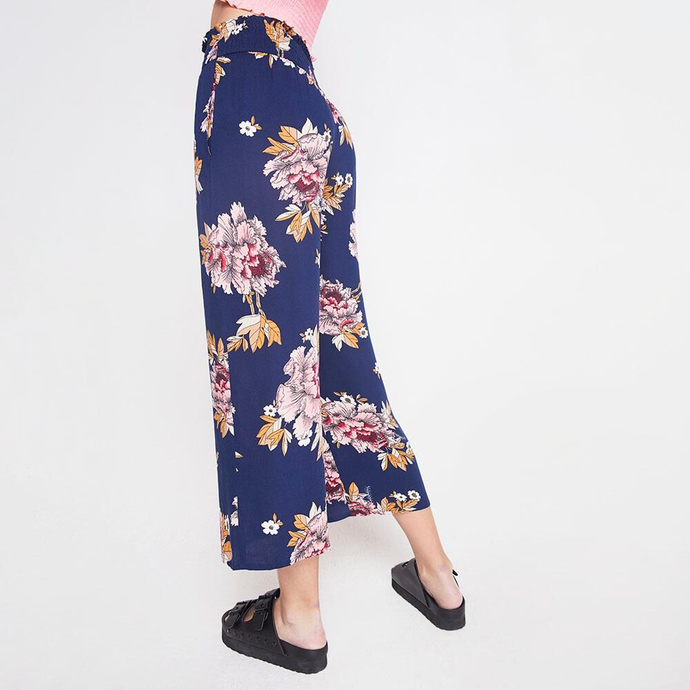 Pantalon Tiro Alto Culotte Mujer Freedom image number 2.0