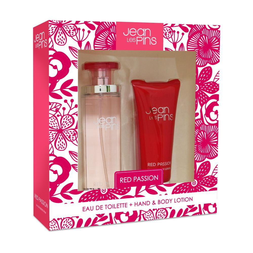 Perfume Mujer Red Passion Jean Les Pins / 100 Ml / Eau De Toilette + Body Lotion image number 0.0