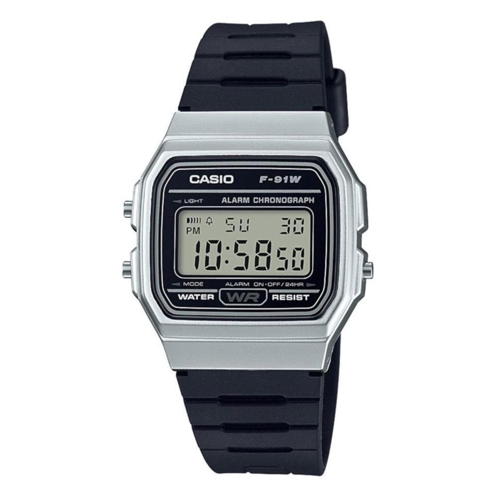 Reloj Hombre Casio F-91wm-1bdf image number 0.0