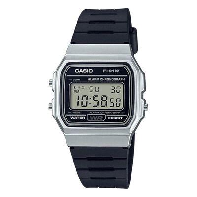 Reloj Hombre Casio F-91wm-1bdf
