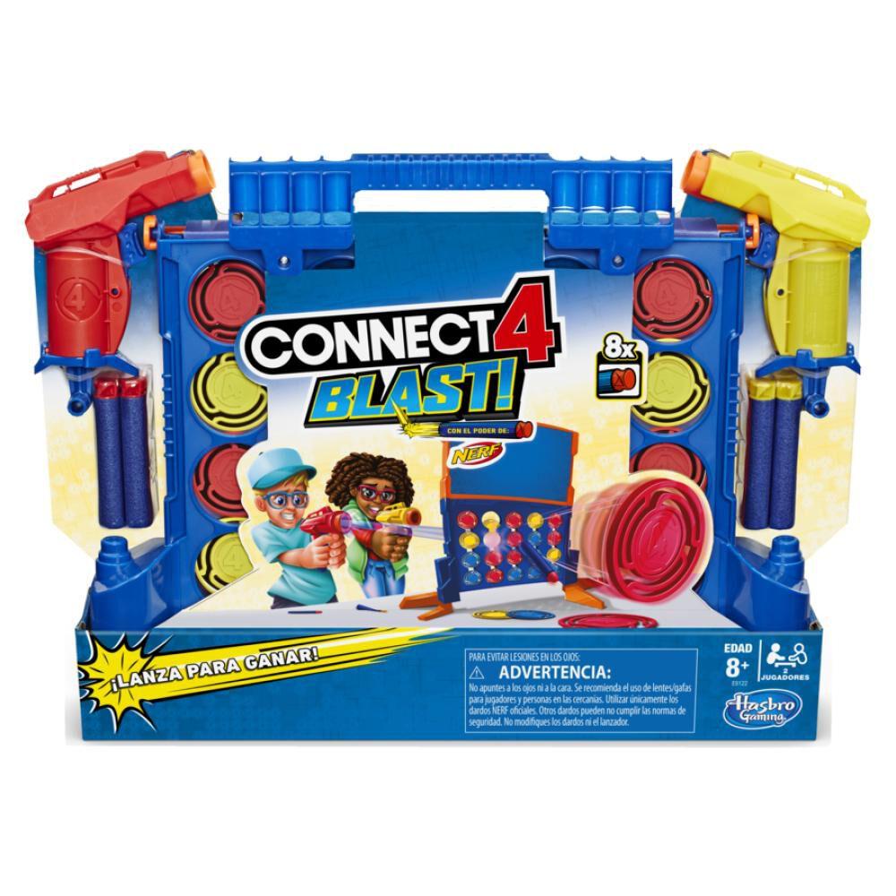 Juegos De Estrategia Nerf Connect 4 Blast! image number 0.0
