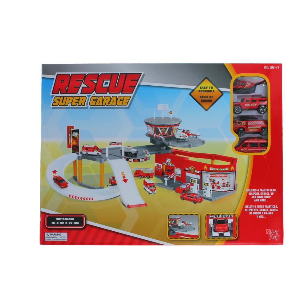 Autopista De Juego Hitoys Rescue Super Garage image number 0.0