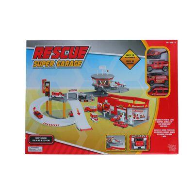 Autopista De Juego Hitoys Rescue Super Garage