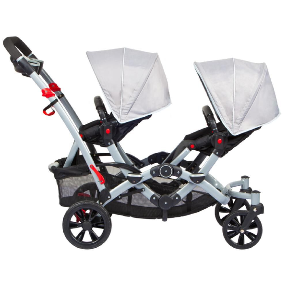 Coches Duo Ride Gery + 2 Sillas Y 2 Bases Infanti image number 4.0