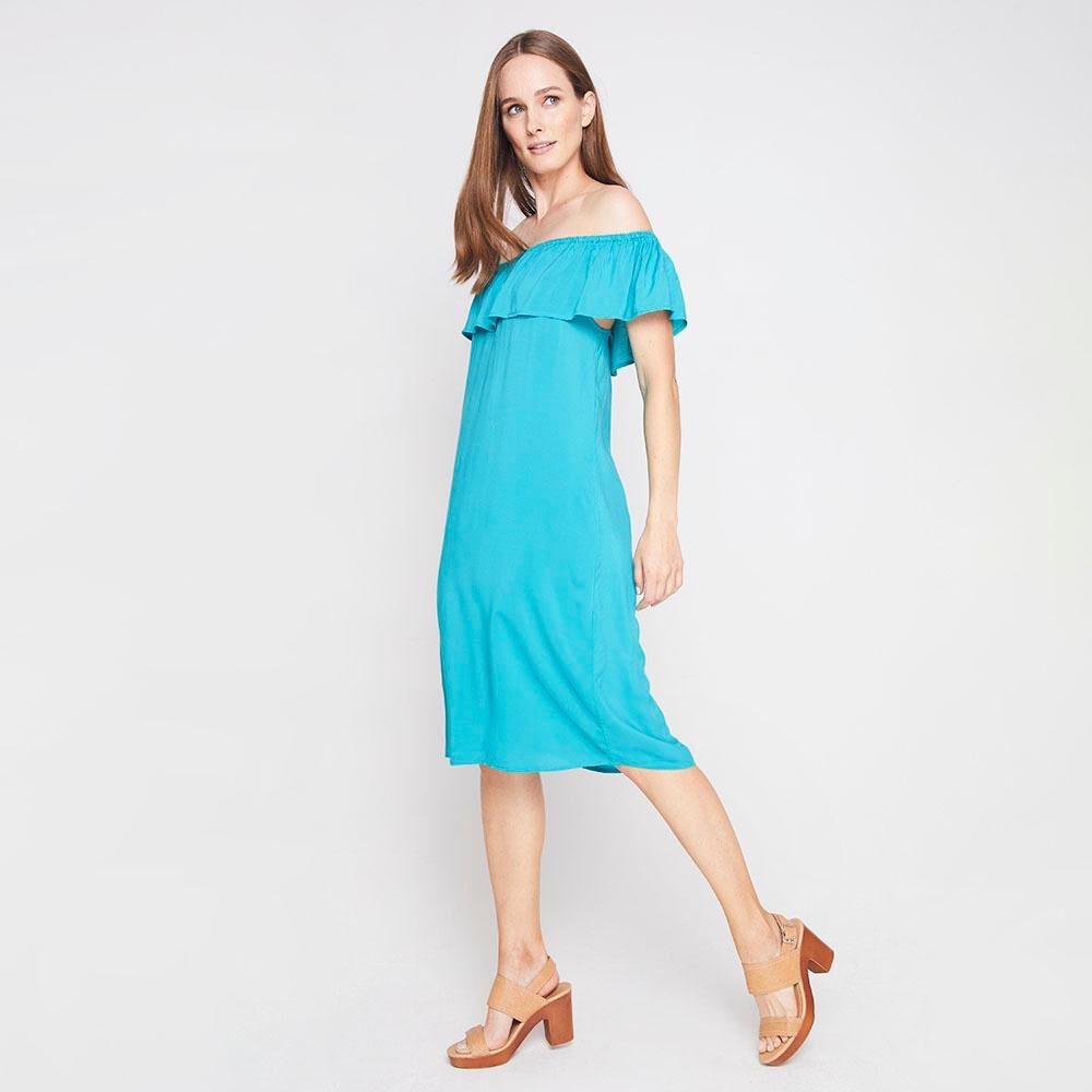 Vestido Con Vuelos Mujer Geeps image number 1.0