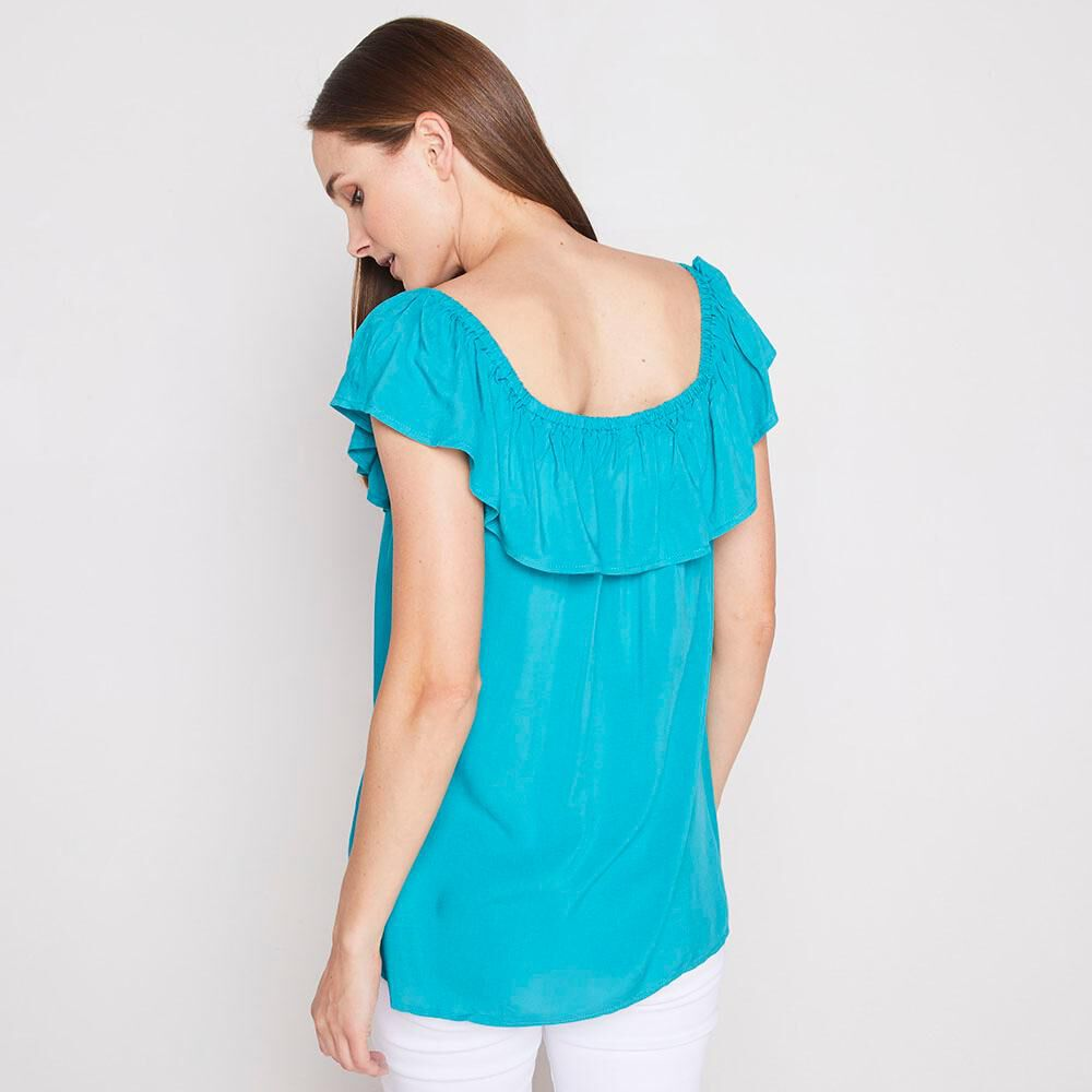 Blusa Con Vuelos Mujer Geeps image number 2.0
