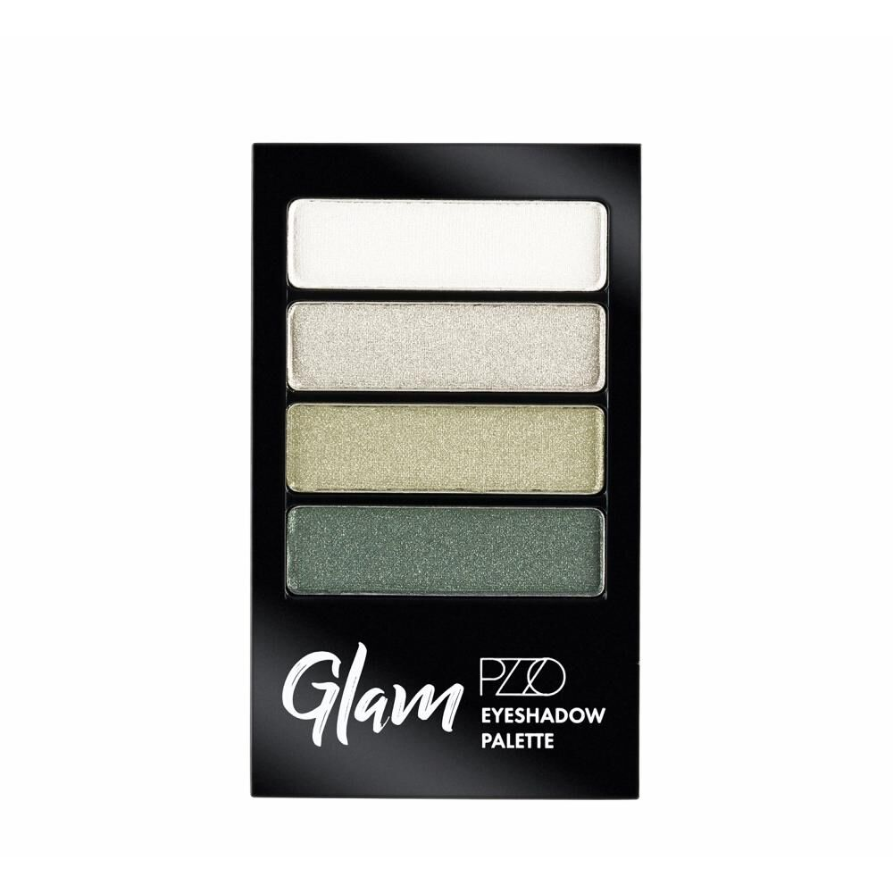 Sombras De Ojo Color Natural Petrizzio Glam Eyeshadow Palette  / Urban Green image number 0.0
