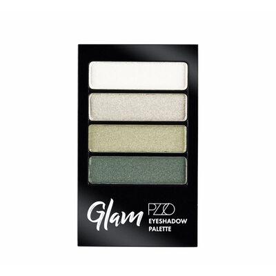 Sombras De Ojo Color Natural Petrizzio Glam Eyeshadow Palette  / Urban Green