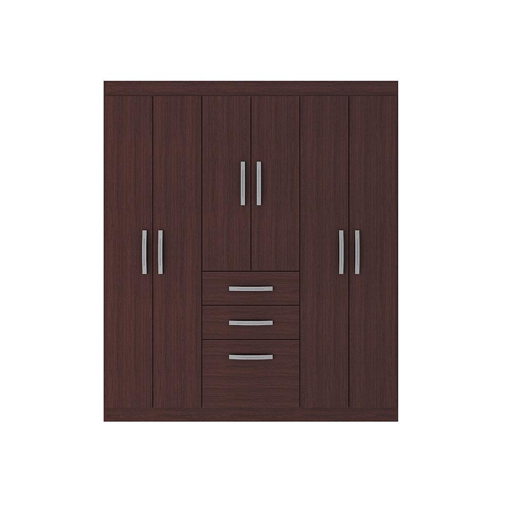 Closet Casa Ideal Bariloche / 6 Puertas / 2 Cajones image number 0.0