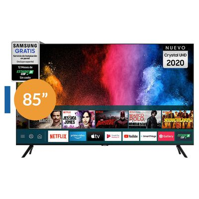"""Led Samsung TU8000 / 85"""" / Crystal UHD 4K / Smart Tv"""