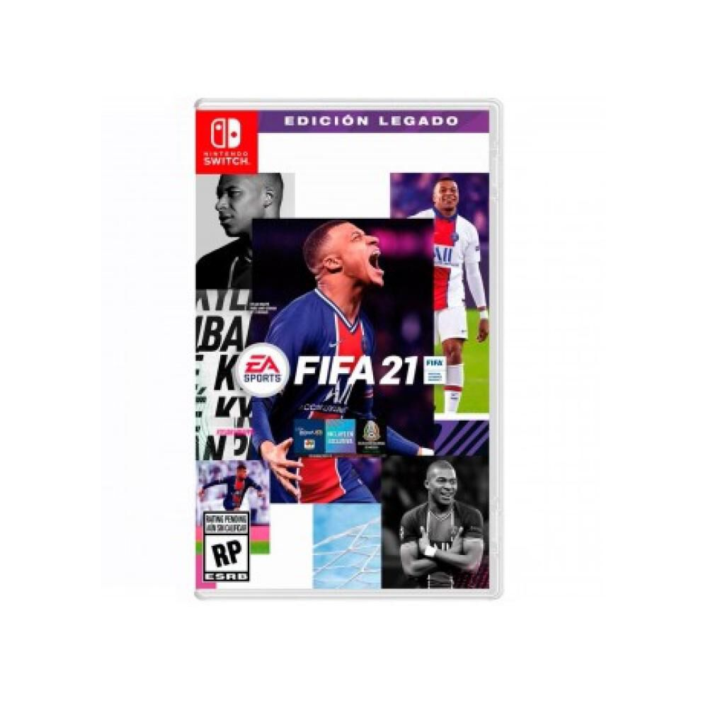 Videojuego Nintendo Switch Fifa 2021 Legacy Edition image number 0.0
