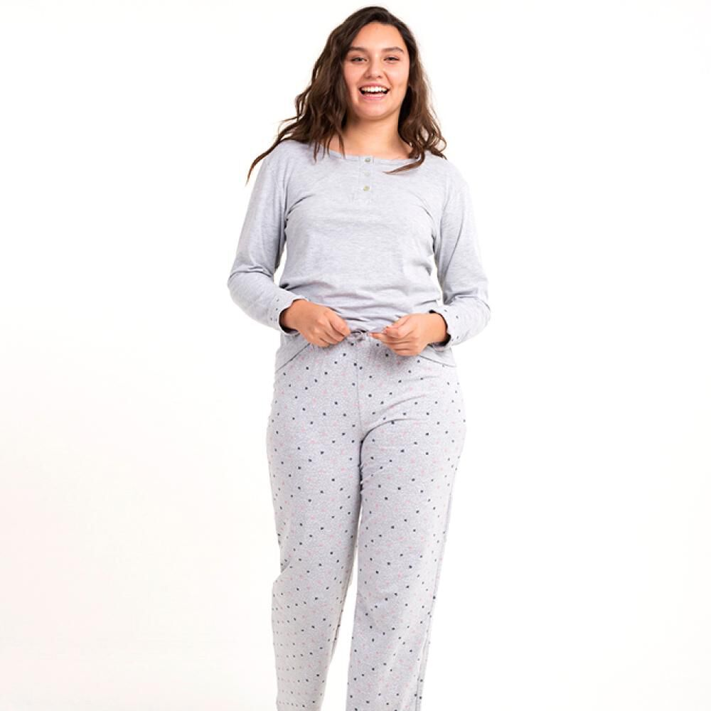 Pijama Mujer Flores image number 0.0