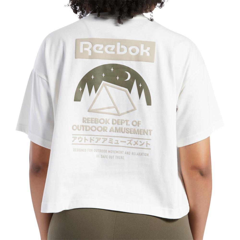 Polera Mujer Reebok Classics Camping Graphic Tee image number 2.0