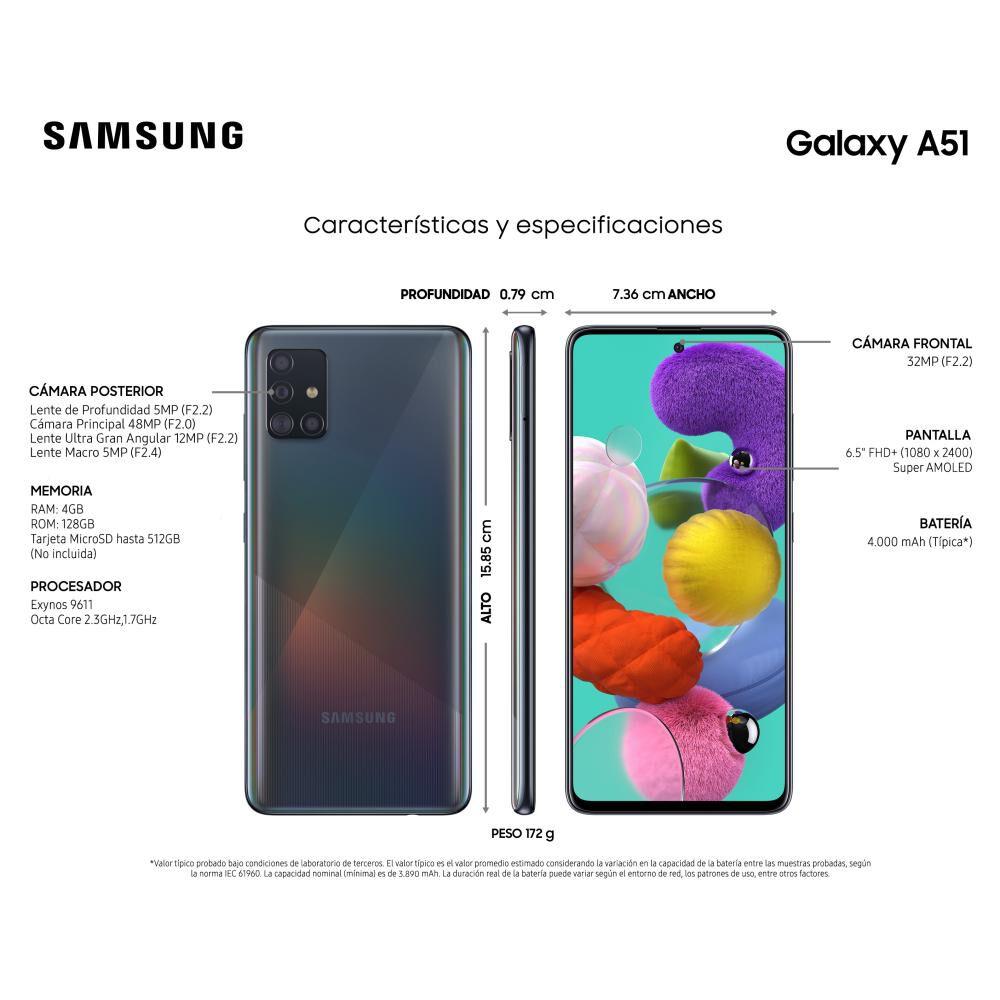 Smartphone Samsung Galaxy A51 128 Gb - Liberado image number 3.0