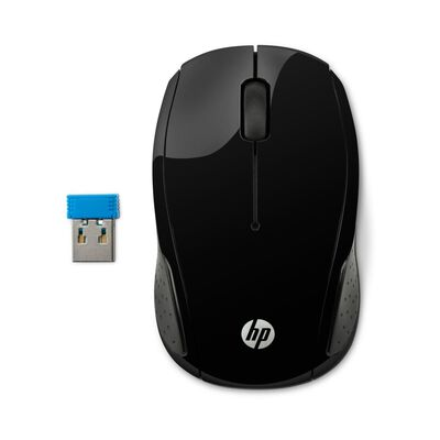 Mouse Hp 200 Black Wireless