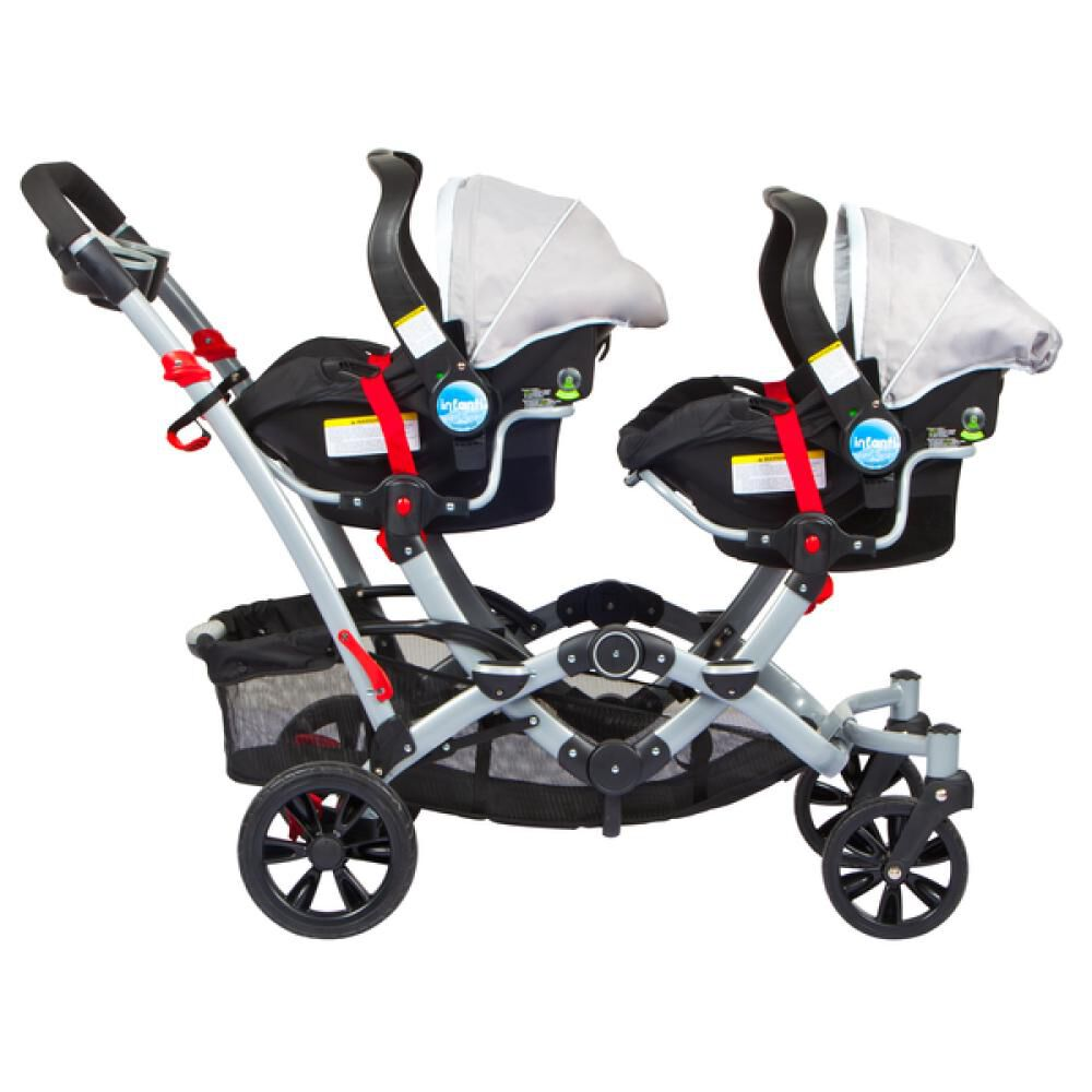Coches Duo Ride Gery + 2 Sillas Y 2 Bases Infanti image number 3.0