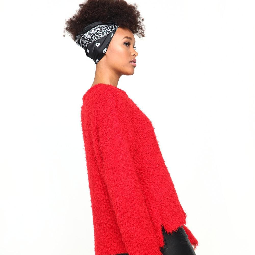 Sweater Peludo Mujer Rolly Go image number 2.0