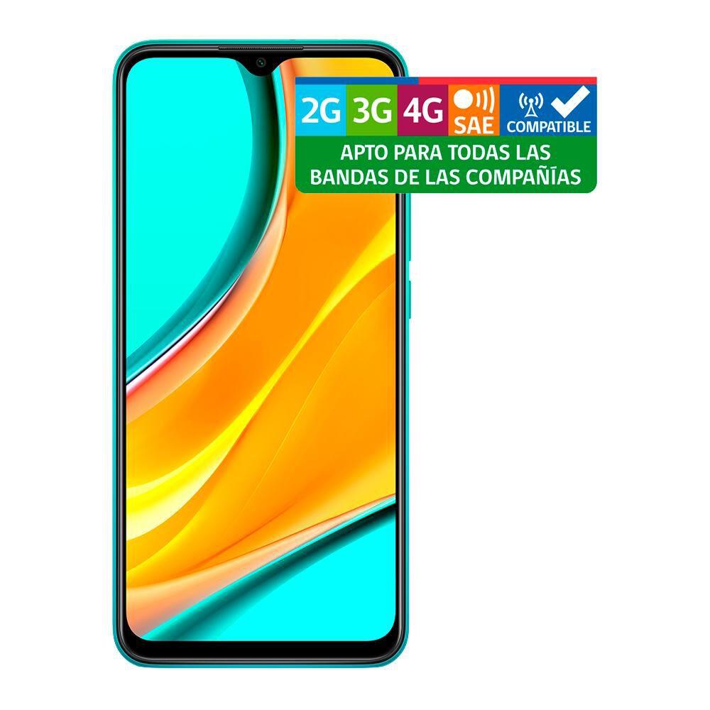 Smartphone Xiaomi Redmi 9 Eu Ocrean Green / 64 Gb / Liberado image number 8.0