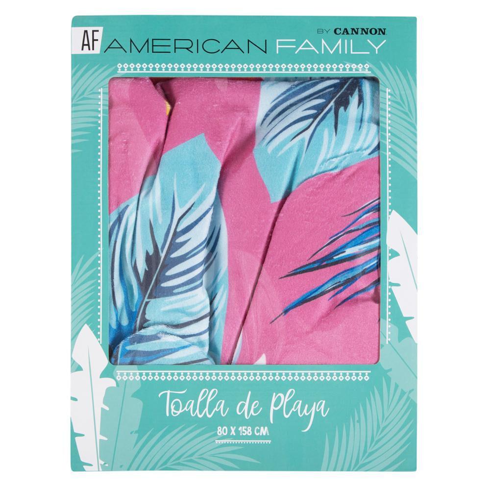 Toalla Playa American Family Papagayos image number 2.0