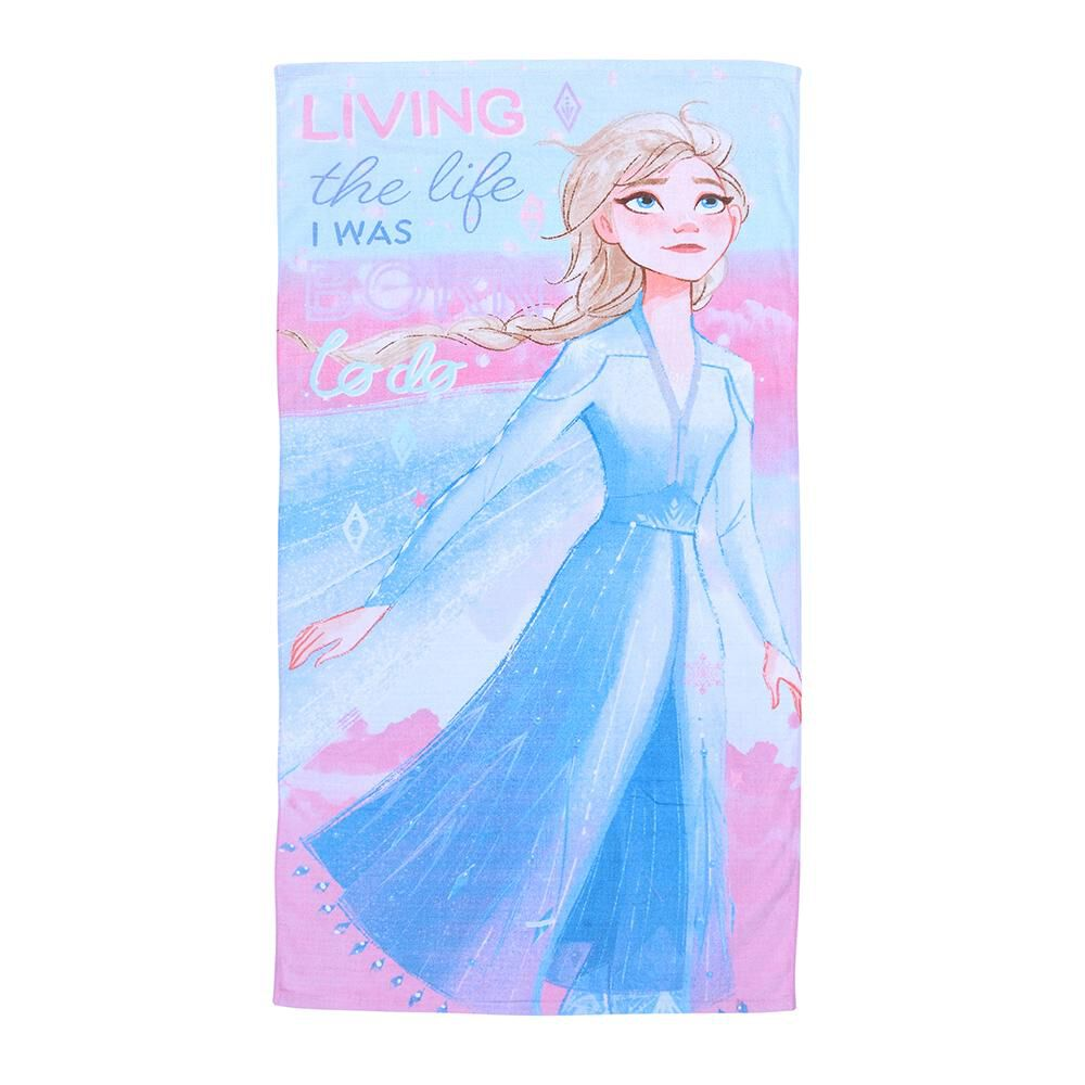 Toalla Playa Disney Frozen Life image number 0.0