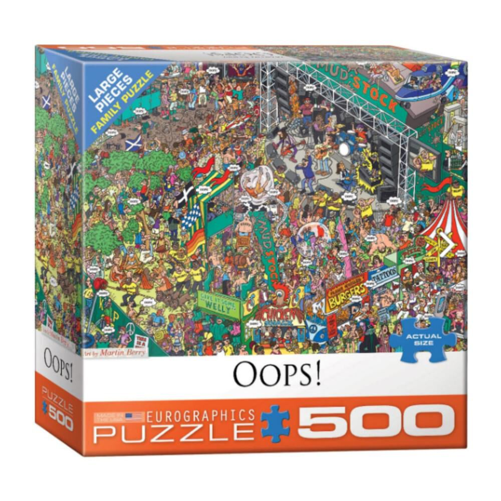 Puzzle Eurographics 8500-5459 Oops! image number 0.0