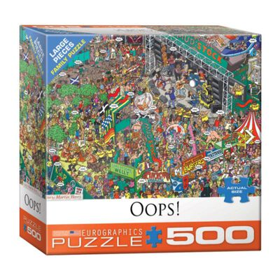 Puzzle Eurographics 8500-5459 Oops!