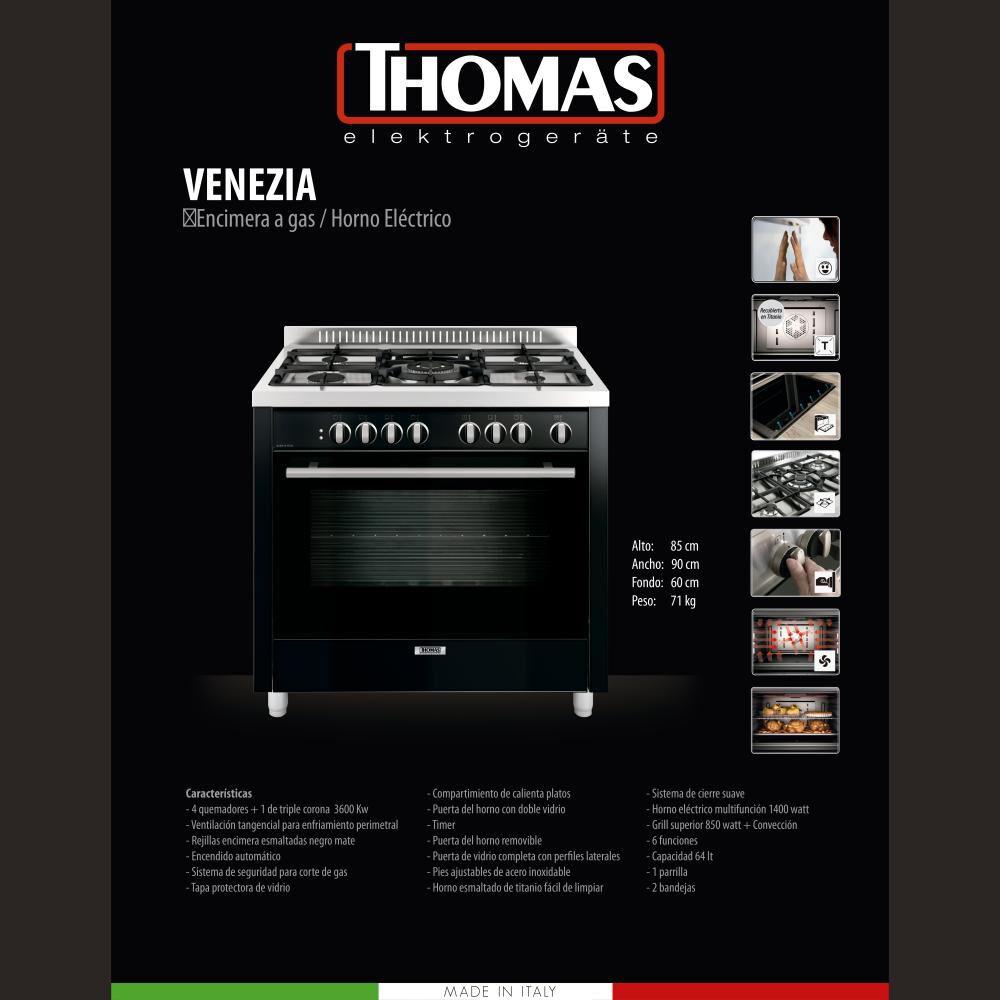 Cocina Thomas Venezia / 5 Quemadores image number 5.0