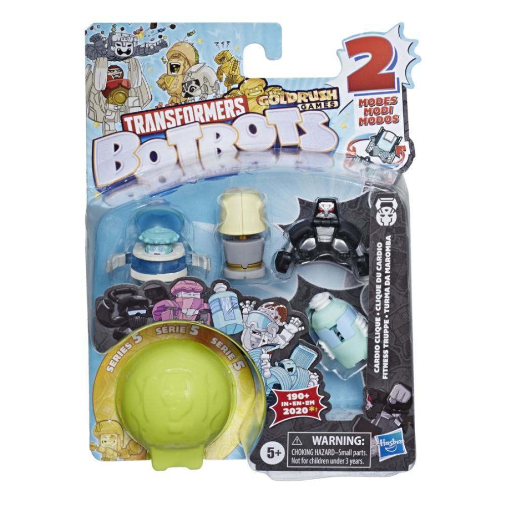Figura De Accion Transformers Botbots 5pk Gym image number 1.0