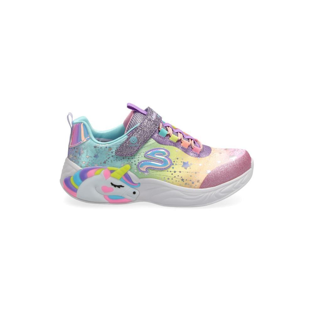 Zapatilla Infantil Niña Skechers image number 1.0