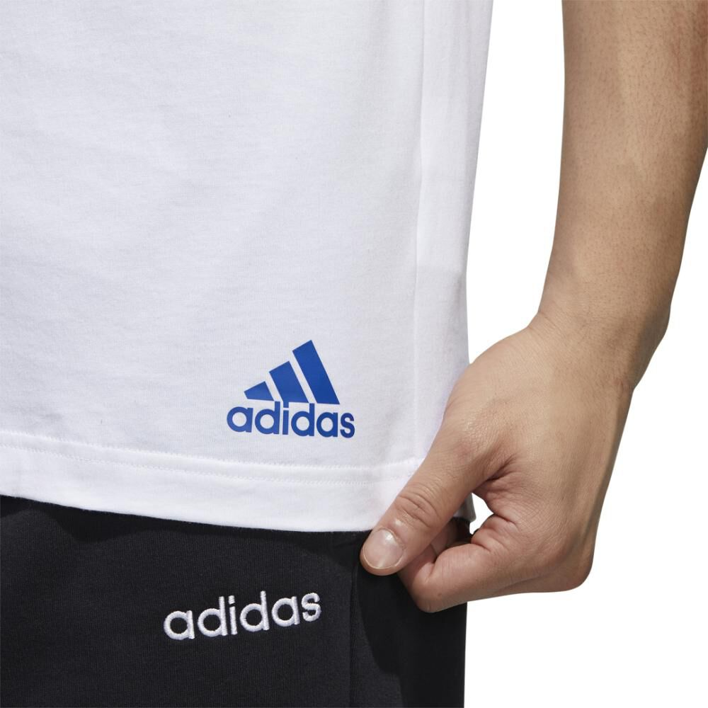 Polera Hombre Adidas Essentials Tape image number 8.0