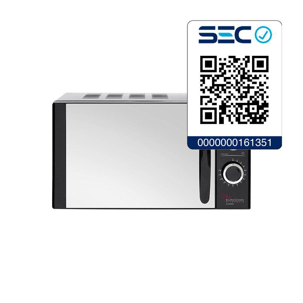 Microondas Mecánico Sindelen M-2020Ng / 20 Litros image number 2.0