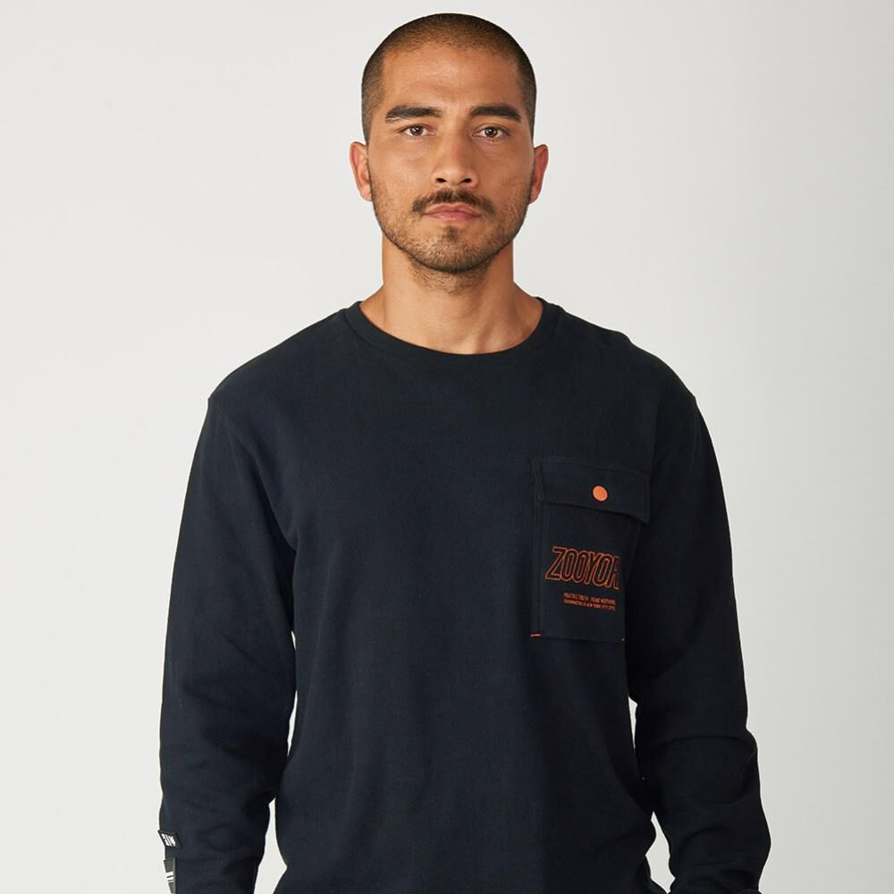 Polerón Hombre Zoo York Crew Neck Charged image number 0.0