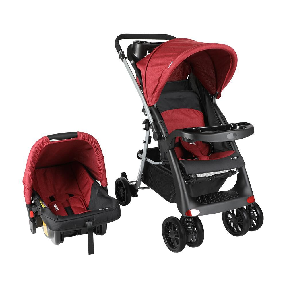 Coche Cosco Travel System Truck Burdeo image number 0.0