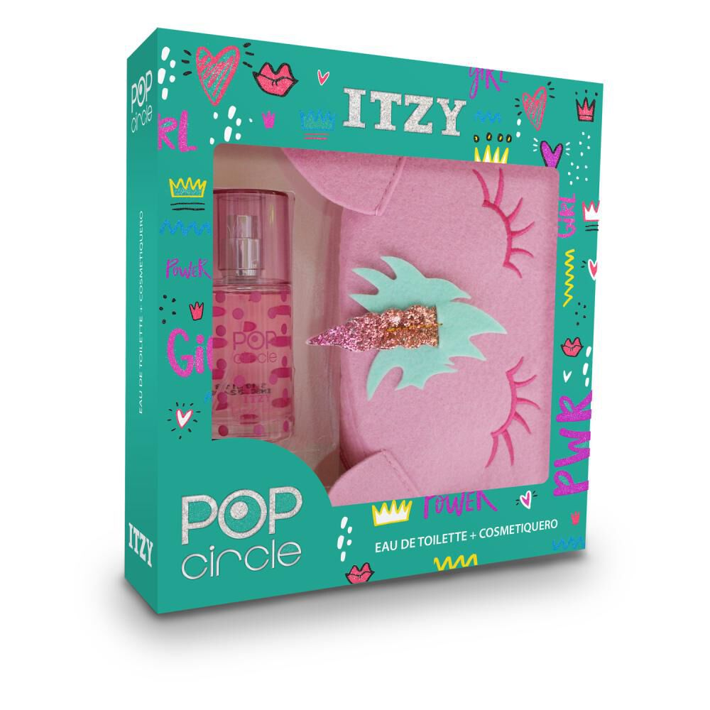 Estuche Itzy Pop Circle + Cosmetiquero image number 0.0