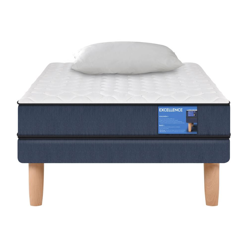 Cama Europea Cic Excellence / 1 Plaza / Base Normal  + Almohada image number 0.0