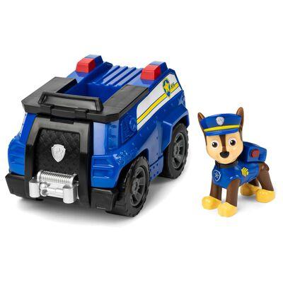 Figura Paw Patrol Chase Vehículo