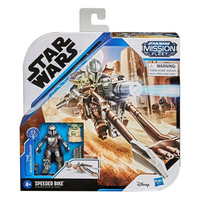 Figura Star Wars Mission Fleet Expedition Class The Mandalorian The Child Battle For The Bounty