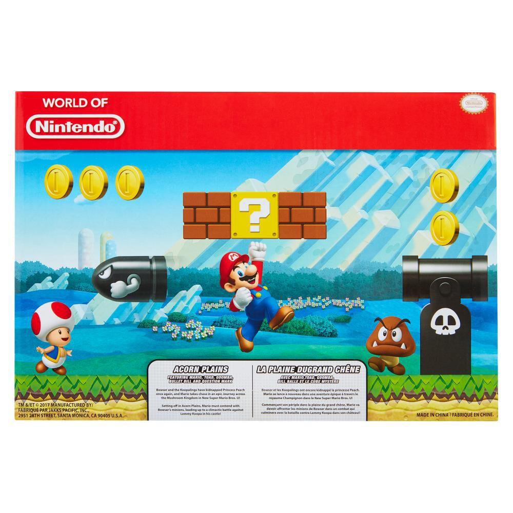 Figura Coleccionable Nintendo Playset Mario Acorn Plains image number 1.0