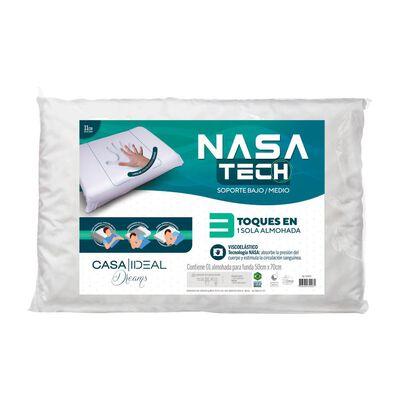 Almohada Casaideal Viscoelástica Memory Foam Nasa Tech / 1 Unidad