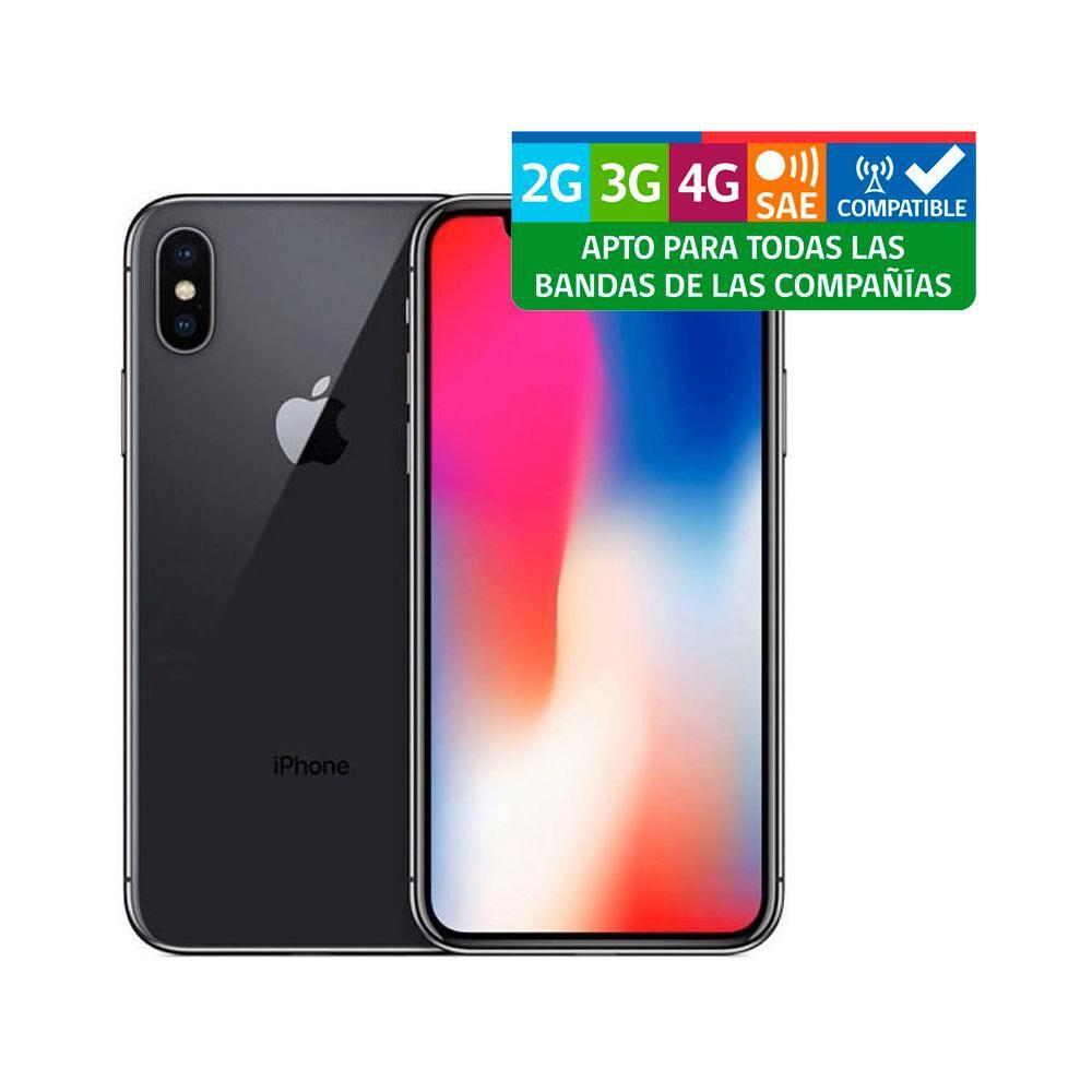 Smartphone Apple Iphone X Reacondicionado Plata / 256 Gb / Liberado image number 2.0