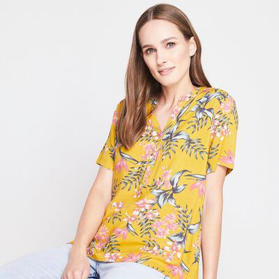 Blusa Full Print Mujer Geeps