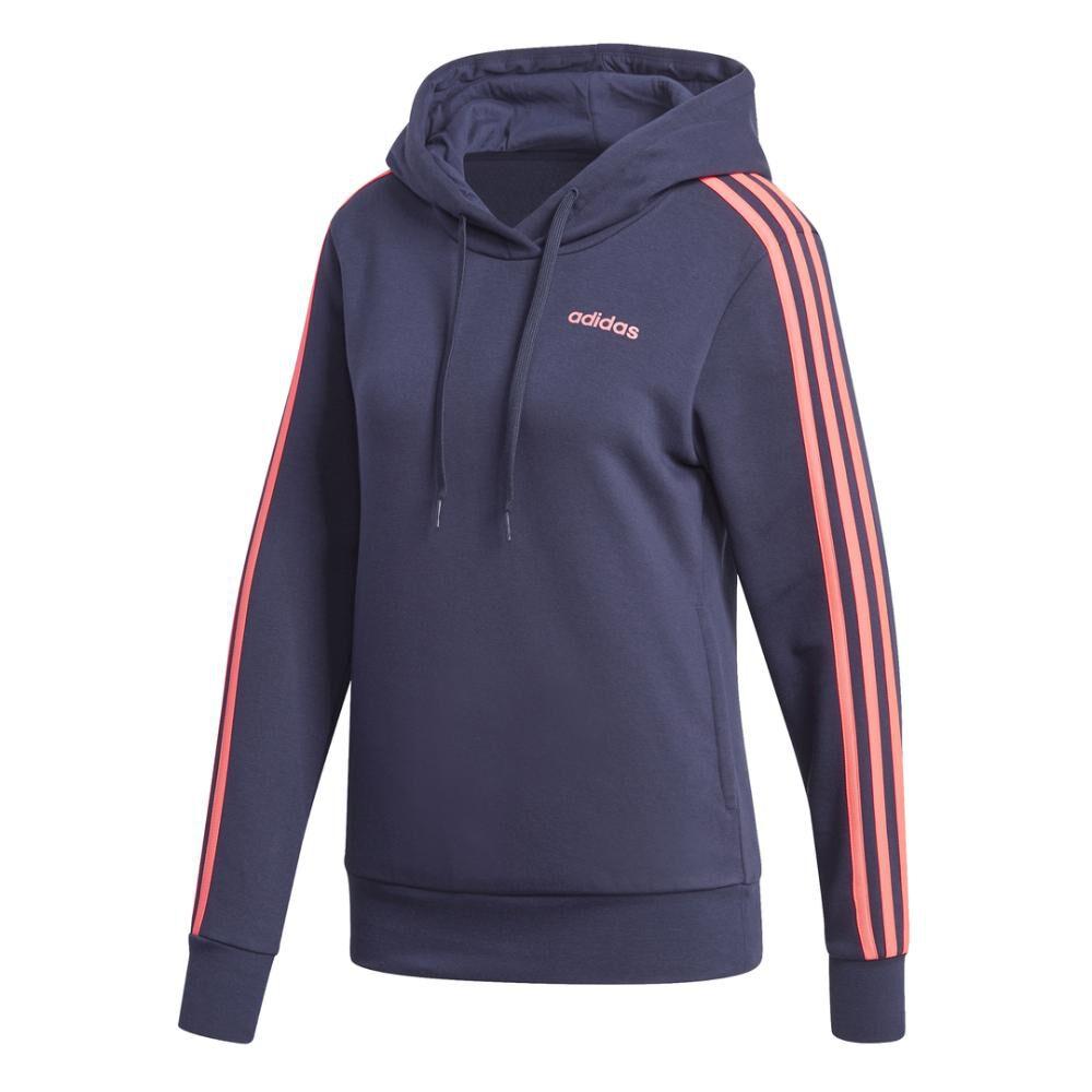 Poleron Deportivo Mujer Adidas Essentials Fleece 3s image number 8.0