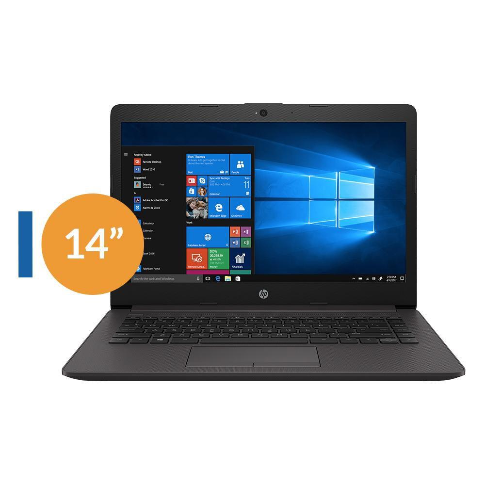 "Notebook Hp 240 G7 / Plateado Ceniza Oscuro / Intel Celeron / 4 Gb Ram / 500 Gb Hdd / 14 "" image number 0.0"