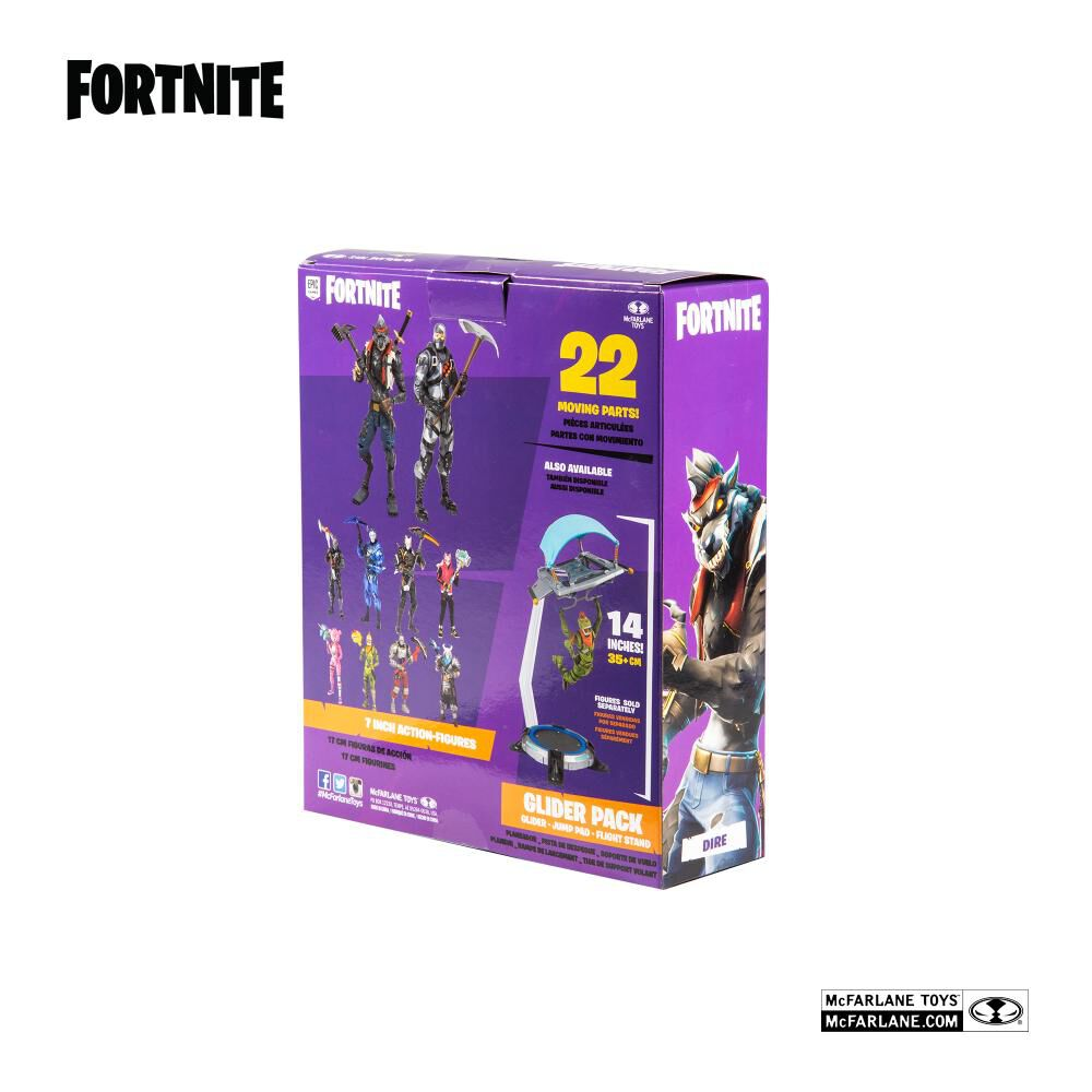 "Fnt10722 Fig Accion Fornite 7""Dire image number 5.0"