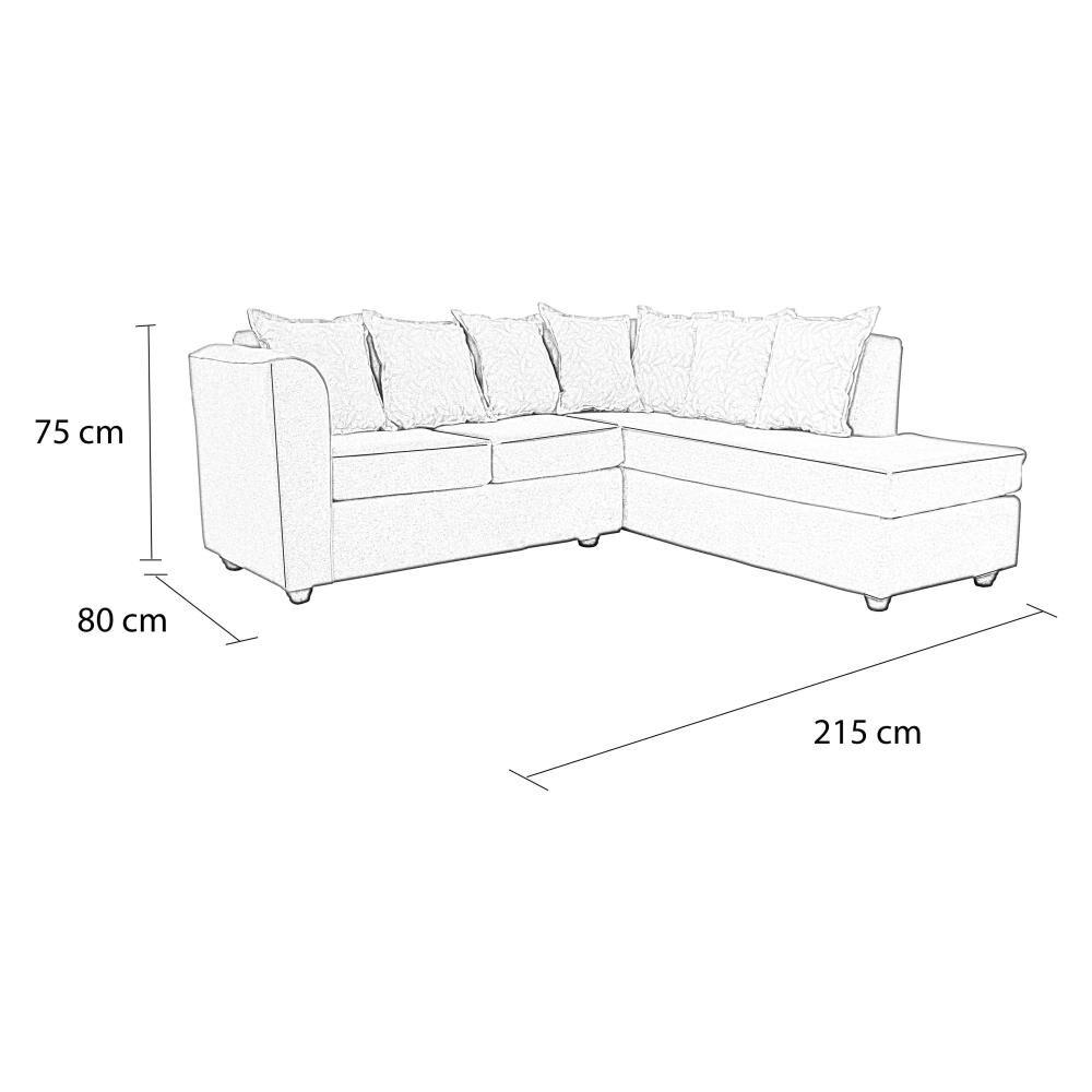 Sofa Seccional Elegant Detail Brooklyn image number 5.0