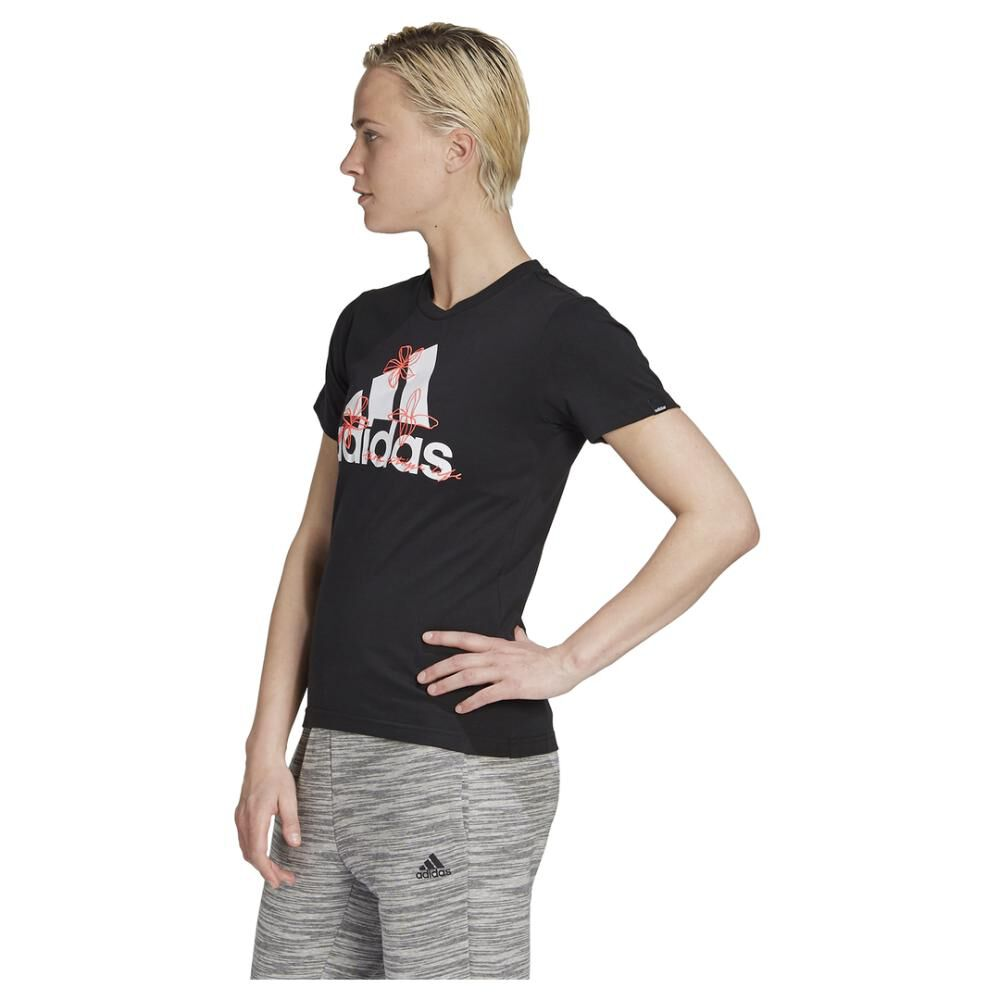 Polera Mujer Adidas Womens Floral Graphic image number 1.0