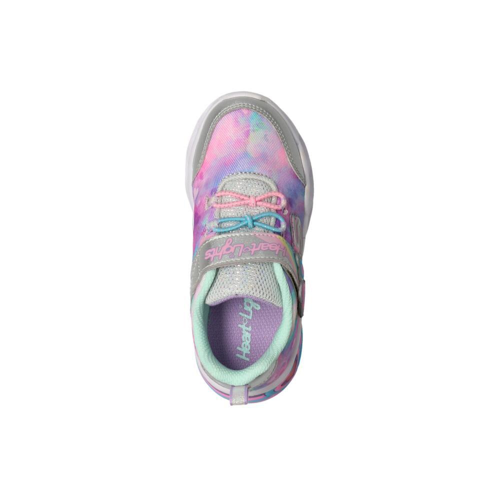 Zapatilla Infantil Niña Skechers image number 3.0